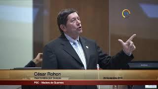 César Rohon  - Sesión 554 - #CasoGabela