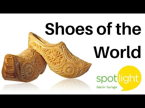 """""""Shoes of the World"""" - practice English with Spotlight"""