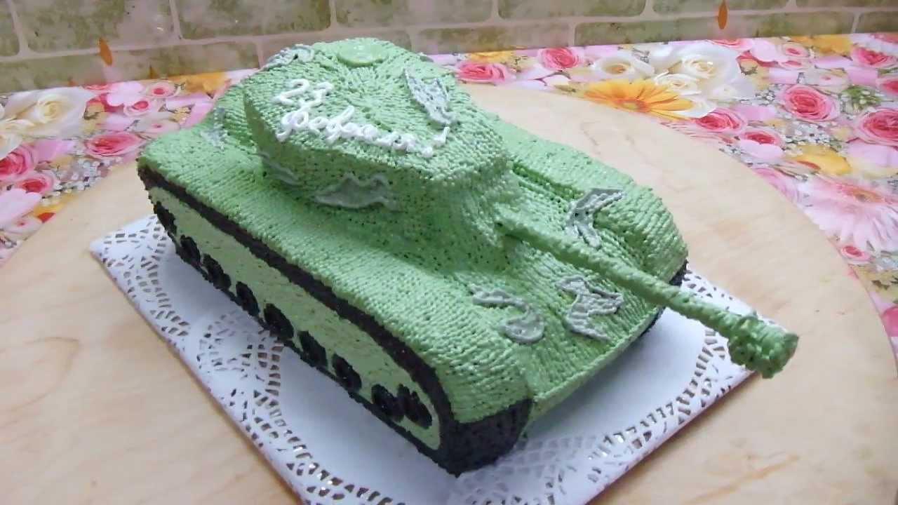 Как украсить торт танк мастер класс фото