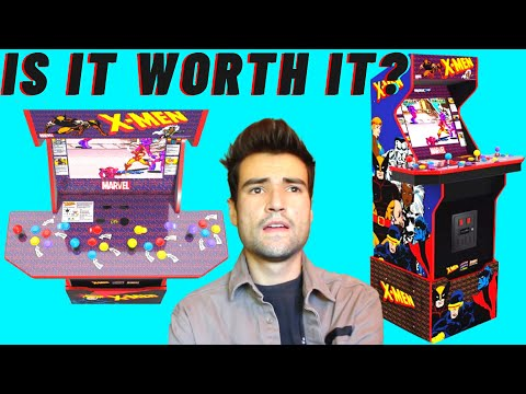 IS THE ARCADE1UP X-MEN 4 PLAYER CABINET WORTH IT? from Brick Rod