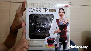 Review : Kiddy Hipseat / Hiprest Baby Carrier (Indonesia)