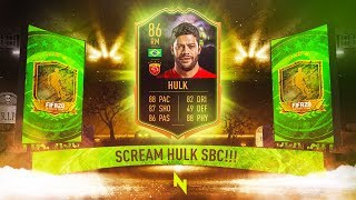 INSANE SCREAM HULK SBC! - FIFA 20 Ultimate Team