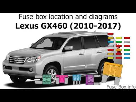 fuse box location and diagrams: lexus gx460 (2010-2017)