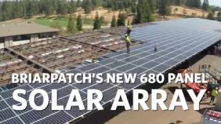 BriarPatch Co-op - Powered by the Sun!