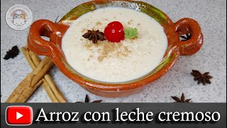 Arroz con leche perfecto y tips