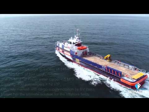 TRIANGLE SHIPYARD   FAST OFFSHORE SUPPORT VESSEL 45 METER