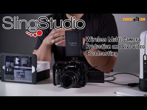 SlingStudio Wireless Portable Multi-Camera Production and Live Stream