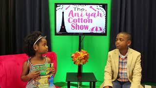Aniyah Cotton Show Feat Book Author Bailey C Moore