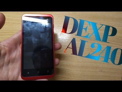 Обзор смартфона DEXP AL240