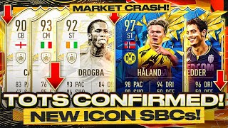 92 ICON MOMENTS DROGBA, 90 CAMPBELL, 93 PIRLO SBCS ARE HERE! 😅 TOTS CONFIRMED! FIFA 21 Ultimate Team