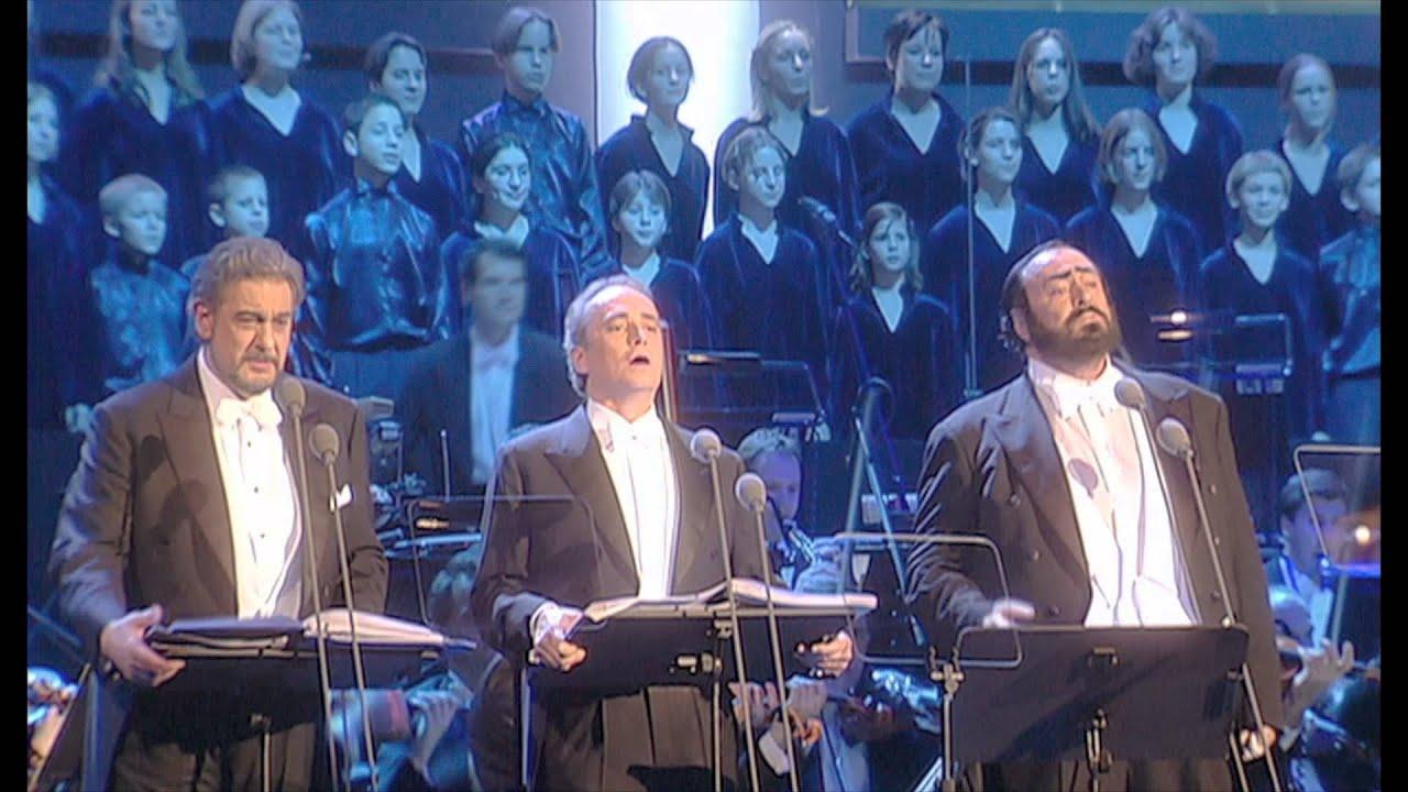 RA Three Tenors Christmas Concert WEB TV TRAILER H264 Spanish ...