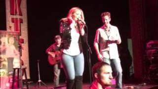 Cash from KTTS dances with Lauren Alaina