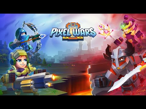 Pixel Wars — MMO Action: Play Free Now