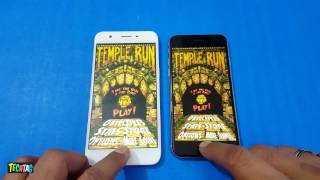 Oppo A57 vs iPhone 6 Speed Test Comparison | Real Smartphone Speedtest!