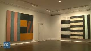 Post-Minimalist abstraction artist Sean Scully's Exhibition to be held in NYC