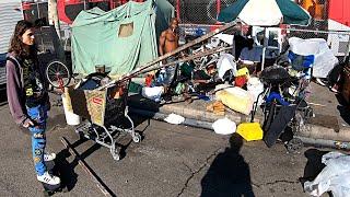 Humanitární krize v druhém největším americkém městě
