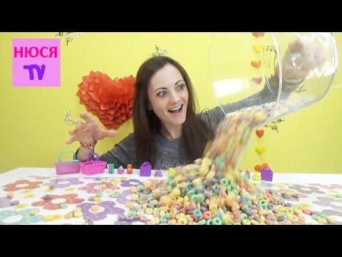 Видео: Шопкинсы пакетики и корзинки с игрушками и сюрпризами распаковка 2 и 3 сезон Shopkins