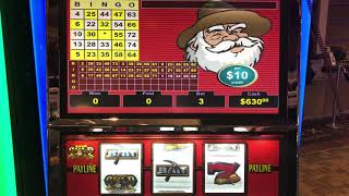 VGT Slots Crazy Bill's Gold Strike - Good Win Choctaw Gambling Casino, Choctaw, OK.