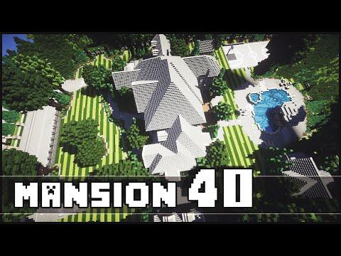 Minecraft - Mansion 40 (Epic Landscaping!)