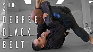 3rd Degree Black Belt Exam | Brazilian Jiu Jitsu | ROYDEAN.TV