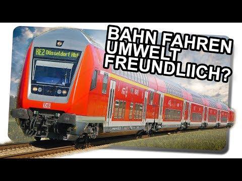So umweltfreundlich ist Bahn fahren wirklich!