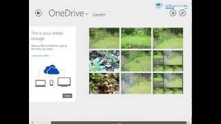 Windows 8 - OneDrive Tutorials