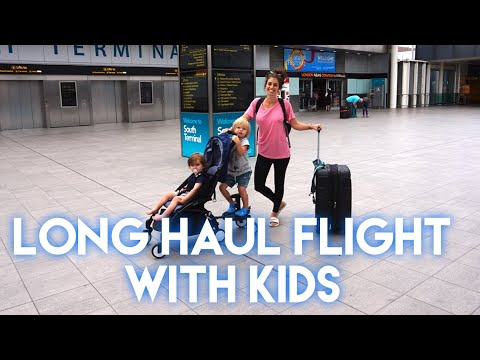 LONG HAUL FLIGHT TO JAMAICA WITH TWO KIDS