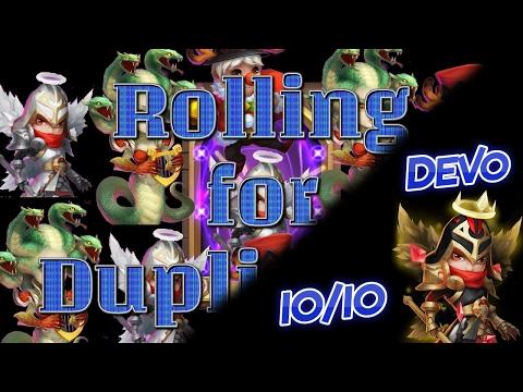 Castle Clash: Rolling Duplicates 3 And Devo Michael