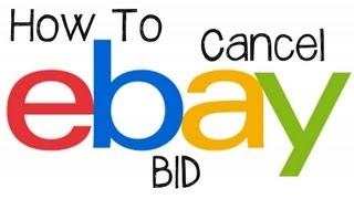 eBay Tutorial - How To Cancel or Retract A Bid On eBay