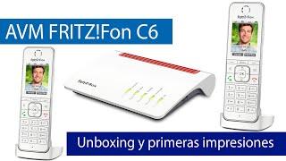 AVM FRITZ!Fon C6: Primeras impresiones de este teléfono IP HD