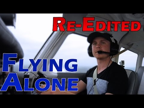 Flying Alone | Practicing for Passengers | ATC Audio