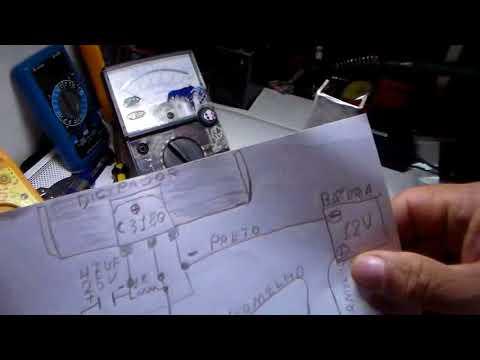 ensinando fazer amplificador parte 2 com transistor 2sc 3180
