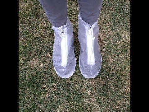 13.04.18 Обзор драйстепперы - чехлы для обуви в дождь - водонепроницаемые чехлы - Rainboots Украина