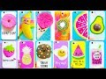15 DIY Phone Cases (Food-inspired) | Easy & Cute Phone Projects #2