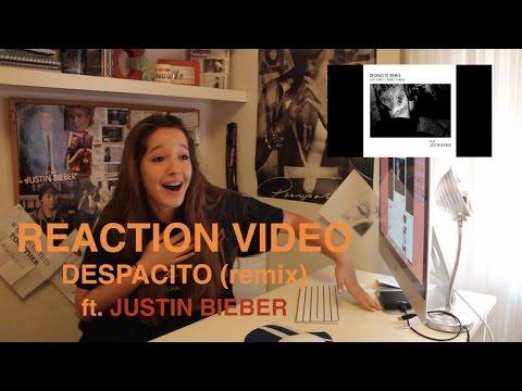 REACTION VIDEO: DESPACITO FT JUSTIN BIEBER / Carla Miró
