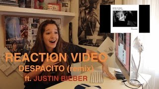 REACTION VIDEO: DESPACITO FT JUSTIN BIEBER / Carla Miró