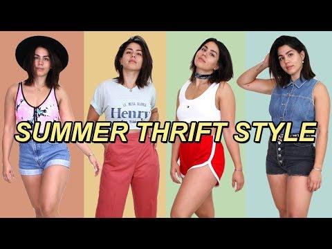 biggest thrift store in LA: SUMMER HAUL | MeganBatoon