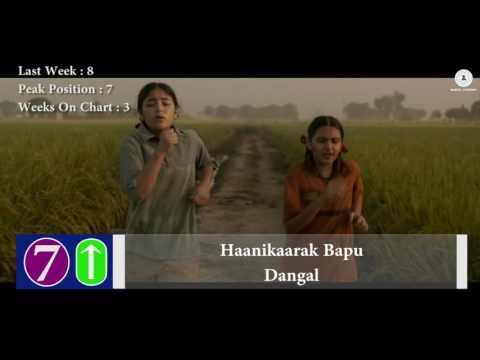 Top 10 Hindi Songs Of The Week - 24 December, 2016 | Bollywood