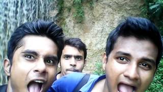 3 idiot on the garo pahar Water Fall