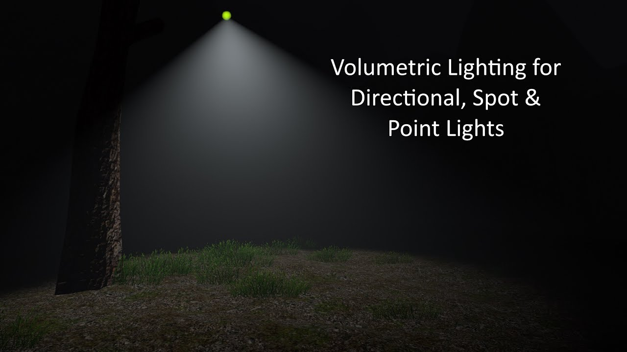 Weather Maker for Unity - Volumetric Lighting with Directional, Spot and  Point Lights by Jeff Johnson