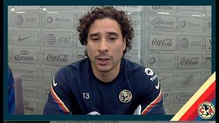 Guillermo Ochoa - Conferencia de prensa // Previo América Vs Cruz Azul