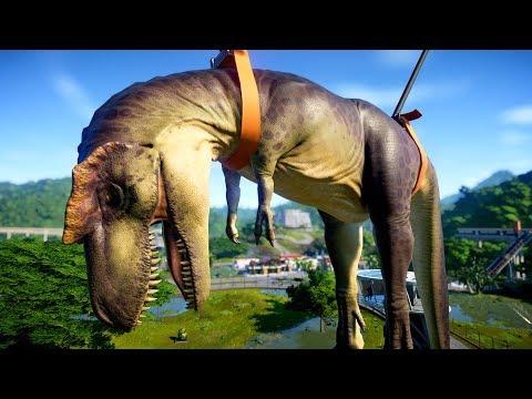 Albertosaurus Vs Indoraptor  Breakout and Fight  - Jurassic World Evolution Breakout