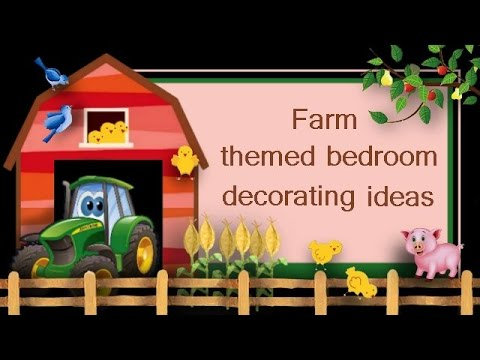 On The Farm Tractor Themed Bedroom Ideas