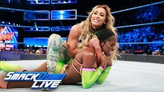 Naomi vs. Carmella: SmackDown LIVE, Aug. 8, 2017