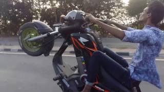 Honda Navi Stunts. . .Hyderbad