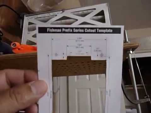Fishman Prefix Installation  1  Youtube