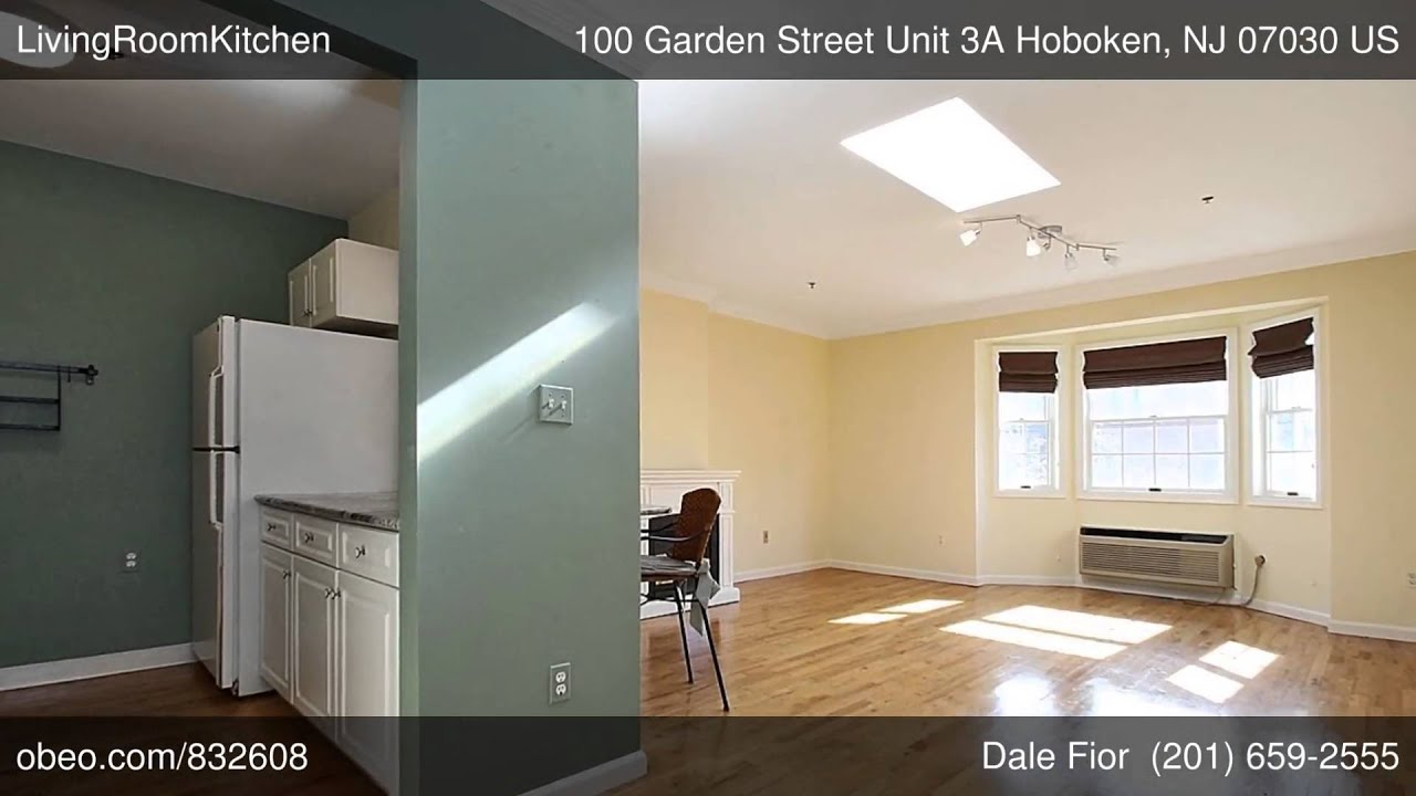 100 Garden Street Unit 3A Hoboken NJ 07030 - Dale Fior - Liberty Realty - Obeo Virtual Tour 832608