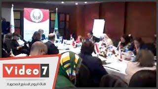 بالفيديو.. منظمة المرأة العربية تبدأ مراسم نقل رئاسة المجلس من المغرب إلى موريتانيا