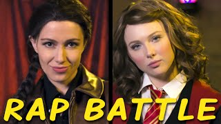 KATNISS vs HERMIONE: Princess Rap Battle (Molly C. Quinn & Whitney Avalon) thumbnail