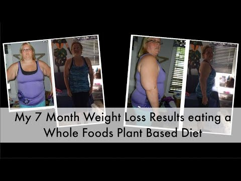 My 7 Months Whole Food, Plant Based Weight Loss Results, WFPB